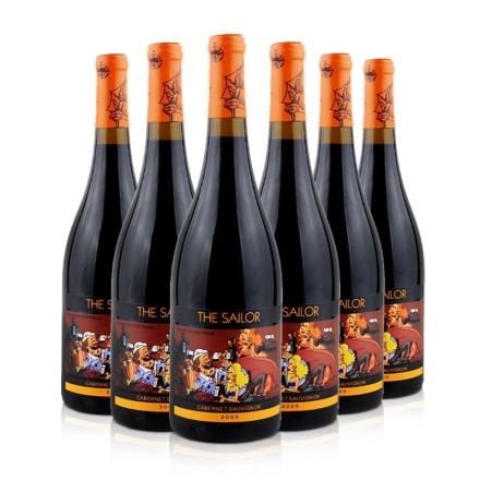 澳大利亚詹姆士水手卡本纳干红葡萄酒2009(6瓶装)