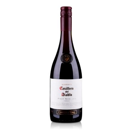 智利干露红魔鬼黑皮诺红葡萄酒750ml