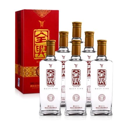 52°全兴福运双星500ml(6瓶装)(乐享)