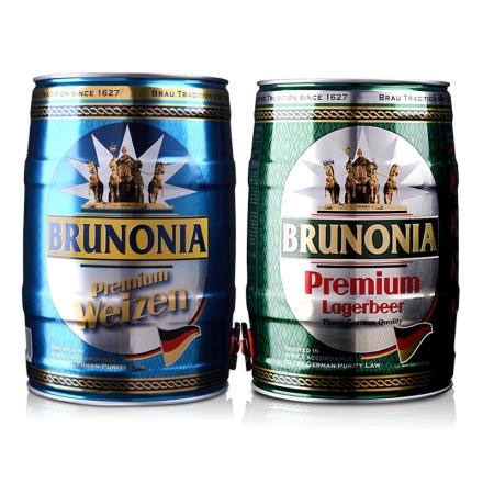 德国埃丝伯爵清啤酒5L+德国埃丝伯爵白啤酒5L