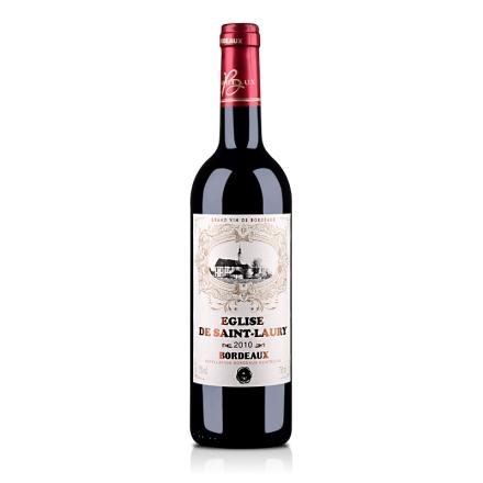 法国波尔多AOC圣罗瑞教堂2010干红葡萄酒750ml