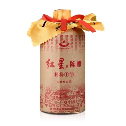 38°红星陈酿酒(封坛十)500ml