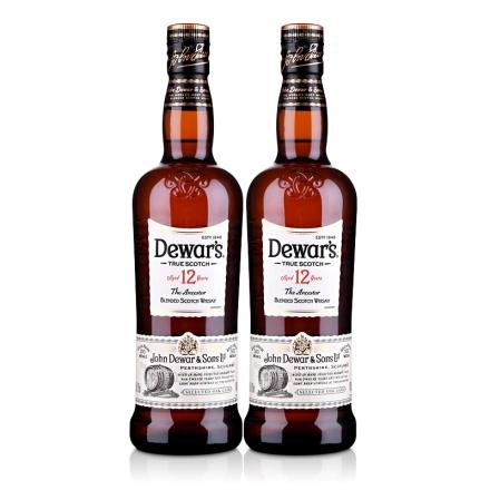 40°帝王12年苏格兰威士忌700ml(双瓶装)