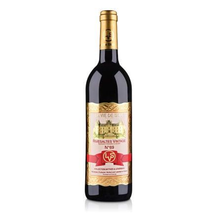 法国拉维之星69号里韦萨尔特红葡萄酒750ml(乐享)