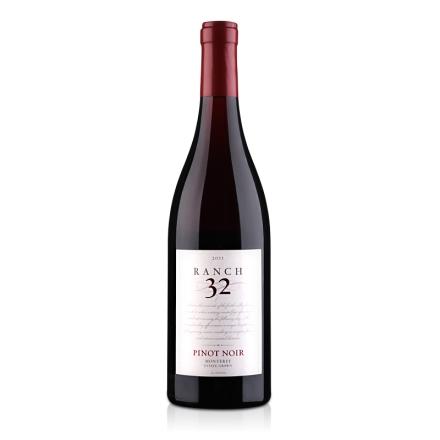 美国32领域庄园黑品诺干红葡萄酒750ml