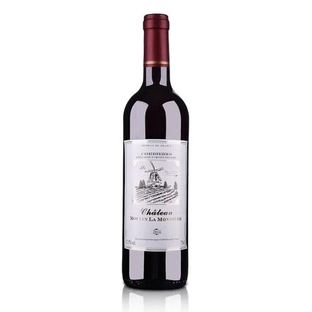 法国原瓶进口AOC蒙迪红磨坊酒庄干红葡萄酒