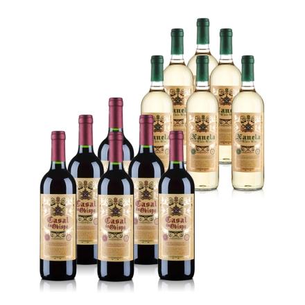 西班牙红白畅饮分享套装(12瓶原瓶进口)