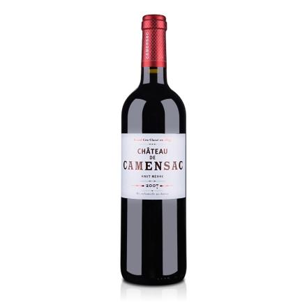 (列级庄·名庄正牌)法国卡门萨克城堡2007干红葡萄酒750ml(又名:珂曼)