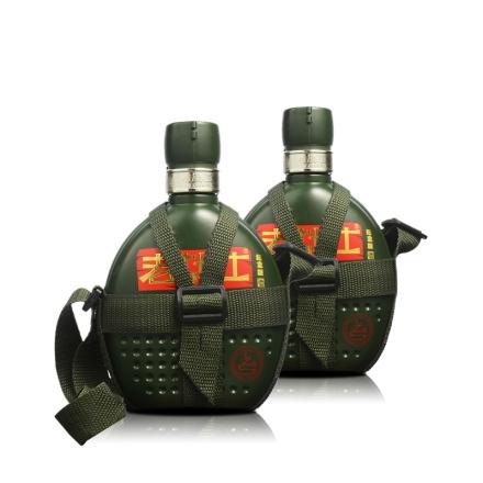52°老战士战酒背包带纪念版500ml(双瓶装)
