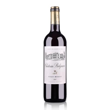 (列级庄·名庄正牌)法国百家富庄园2007干红葡萄酒750ml(又名:百格)