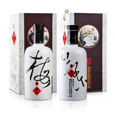 52°湘泉君子酒中妙品(梅兰)500ml*2