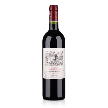 法国拉菲凯萨天堂古堡波尔多法定产区红葡萄酒750ml