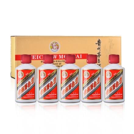 53°茅台贵州茅台酒(金色条装)50ml*5