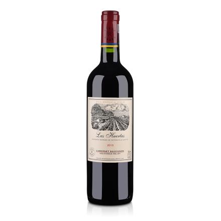 智利拉菲集团巴斯克花园红葡萄酒750ml