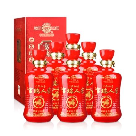 53°汾酒集团红喜庆475ml(6瓶装)