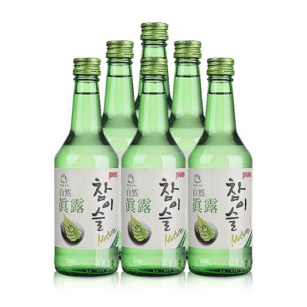 17°自然真露360ml (6瓶装)