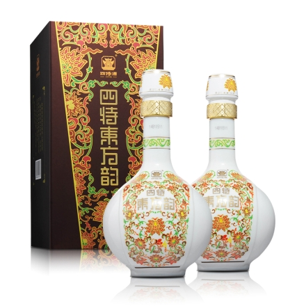 52°四特酒东方韵(弘韵)500ml(双瓶装)