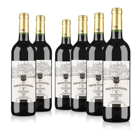【1212盛典】法国原瓶进口莫蕾尔干红葡萄酒750ml(6瓶装)