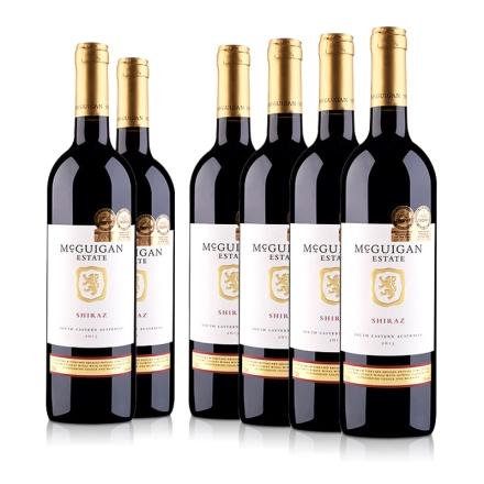 澳大利亚麦格根.庄园西拉红葡萄酒750ml(6瓶装)