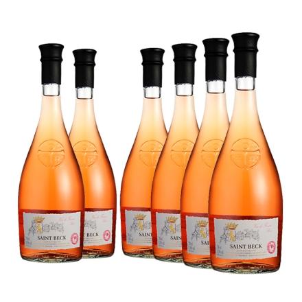 法国圣贝克桃红葡萄酒750ml(6瓶装)
