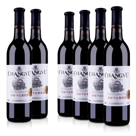 中国张裕干红葡萄酒750ml(6瓶装)