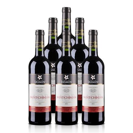 法国AOP茉莉花 - 圣•夕阳干红葡萄酒750ml*6支装