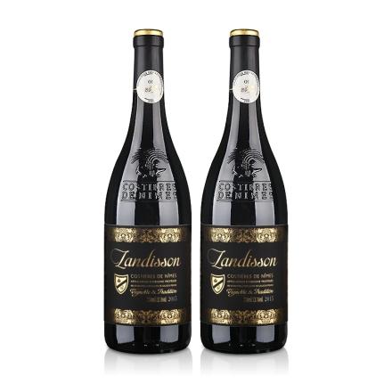 法国原瓶进口AOC勆迪干红葡萄酒750ml(双瓶装)