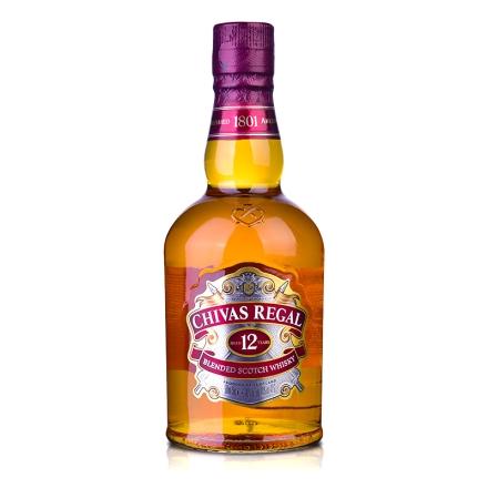 40°英国芝华士威士忌500ml